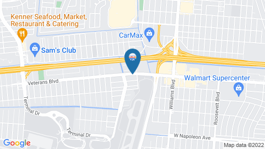 Radisson Hotel New Orleans Airport Map