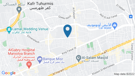 Apartment For Rent in Faisal Giza Map