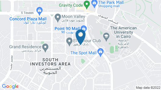 Prime Residence New Cairo Map