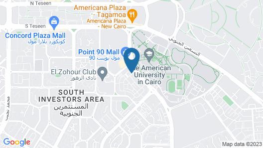 NewCity Suites & Apartments Map
