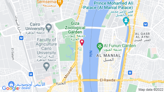 Four Seasons Hotel Cairo at First Residence Map