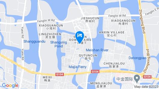 Holiday Inn Express Shaoxing Paojiang, an IHG Hotel Map