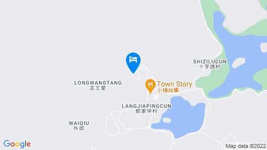 New Century Resort Jiu Long Lake Ningbo Map