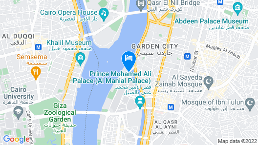 Grand Nile Tower Map