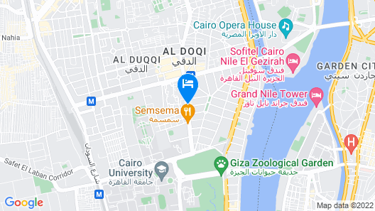 Safir Hotel Cairo Map