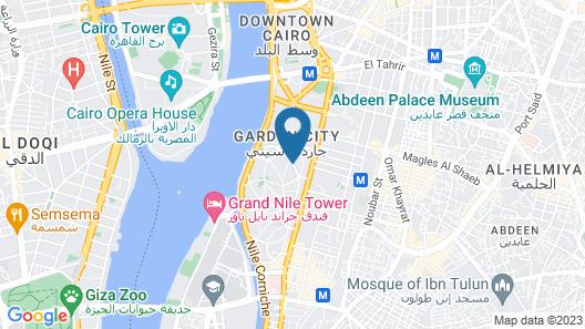 Mandarin Hotel Map