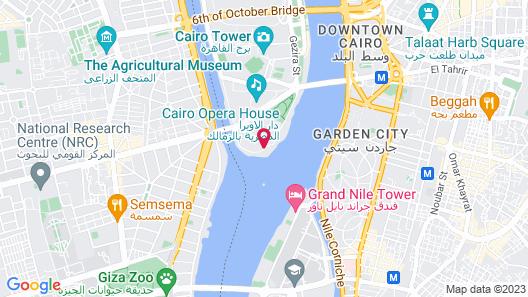 Sofitel Cairo Nile El Gezirah Map