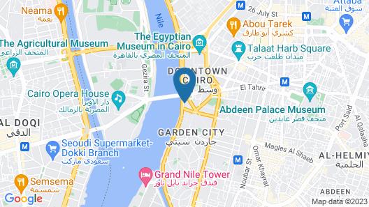 Intercontinental Cairo Semiramis, an IHG Hotel Map