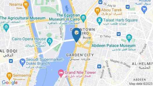 Intercontinental Cairo Semiramis Map