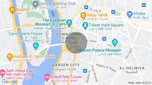 Royal Pyramids Palace Residence<br>Whole Residence Map