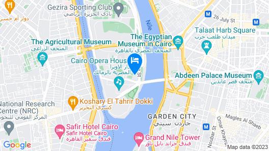 Novotel Cairo El Borg Map