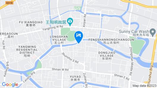 Grand Pacific Hotel Ningbo Map