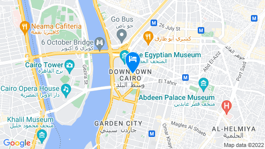 City View Hotel Map