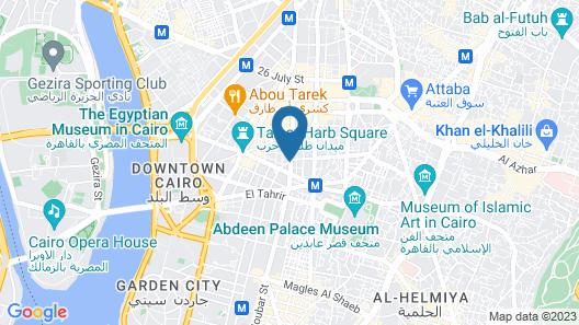 Eden Hostel Map