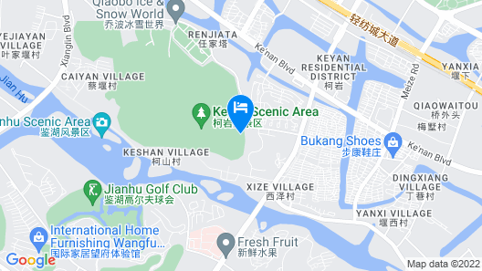 Shaoxing Mirror Lake Hotel Map