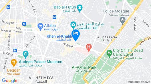 Nour Elsabah Hotel Map