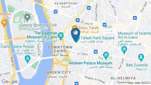 Cairo Inn Map