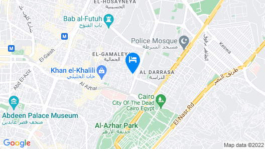 Sydna All Hussain Hotel Map