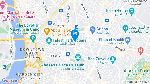 Atlas Hotel Map
