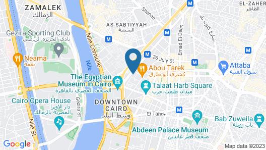Castle Hotel Map
