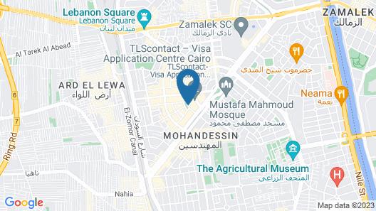 Swiss Inn Hotel Cairo Map