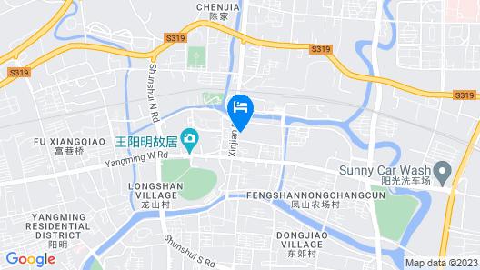 Excemon Yuyao Hemudu Hotel Map