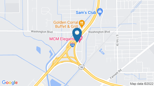 Courtyard by Marriott Beaumont Map