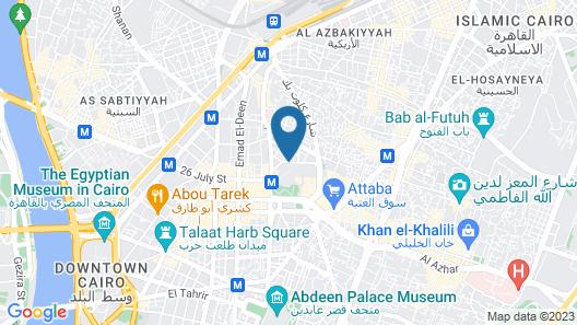 City Hostel Map