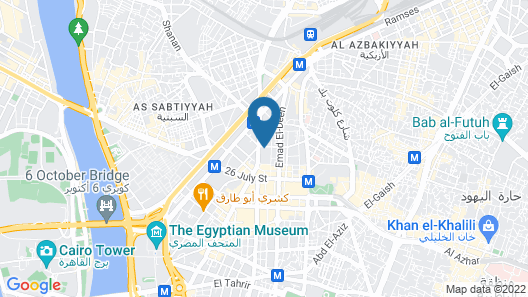 Pyramids Youth House Map