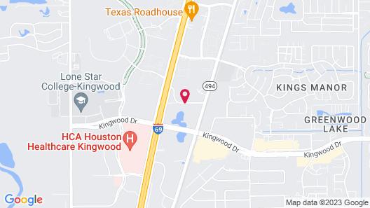 Homewood Suites Houston/Kingwood Parc-Airport Area Map