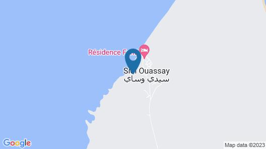 Wassay Beach Map