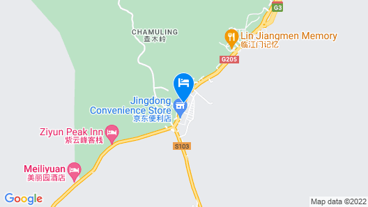 Huangshan Castle In The Sky Hotel Map