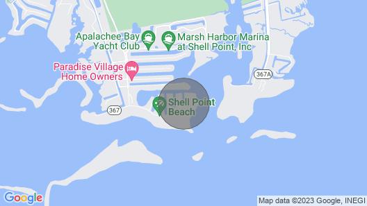 Peaceful Shell Point Beach House Map