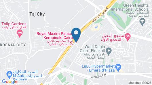 Royal Maxim Palace Kempinski Cairo Map