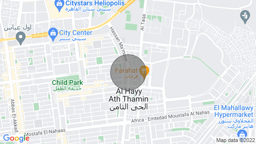 Lovely Apartment at Nasr City Next to Al Ahly Club Map