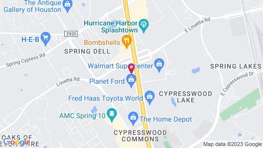 Express Inn - Spring Map