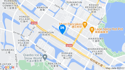 SSAW Boutique Hotel Shaoxing Map