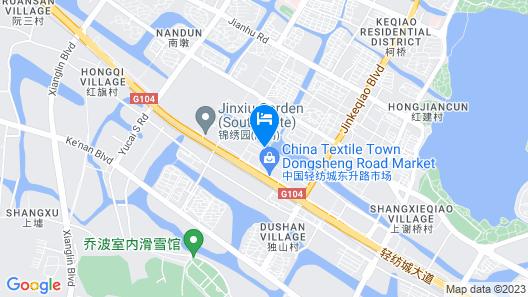 Narada Boutique Hotel Shaoxing Map