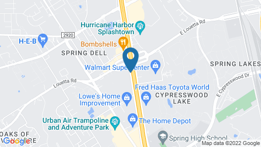 Red Roof Inn Houston – Spring North Map