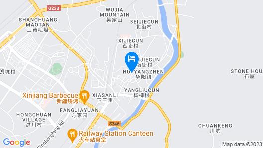 GreenTree Inn XuanCheng Jixi County GuangMing Building Hotel Map