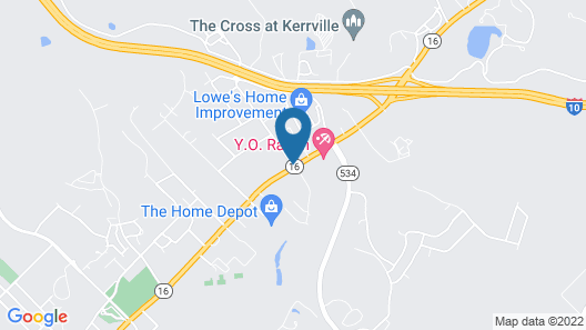 Days Inn by Wyndham Kerrville Map