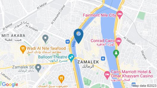 Golden Tulip Flamenco Map
