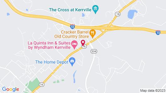 Hampton Inn Kerrville Map