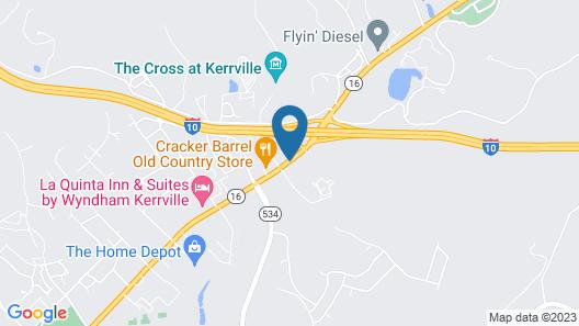 Super 8 by Wyndham Kerrville TX Map