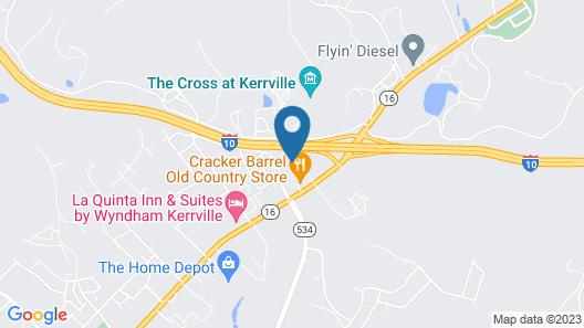 Holiday Inn Express Hotel & Suites Kerrville, an IHG Hotel Map