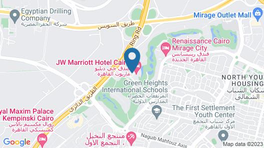 JW Marriott Hotel Cairo Map