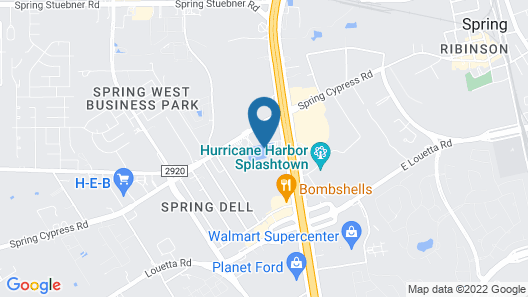 La Quinta Inn and Suites by Wyndham Houston Spring South Map