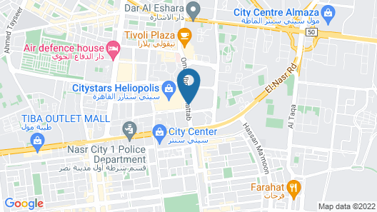 InterContinental Cairo Citystars, an IHG Hotel Map