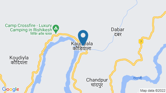 Ecoterra Solace Resort Map