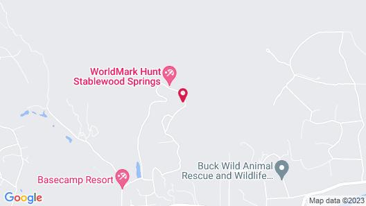 WorldMark Hunt - Stablewood Springs Resort Map